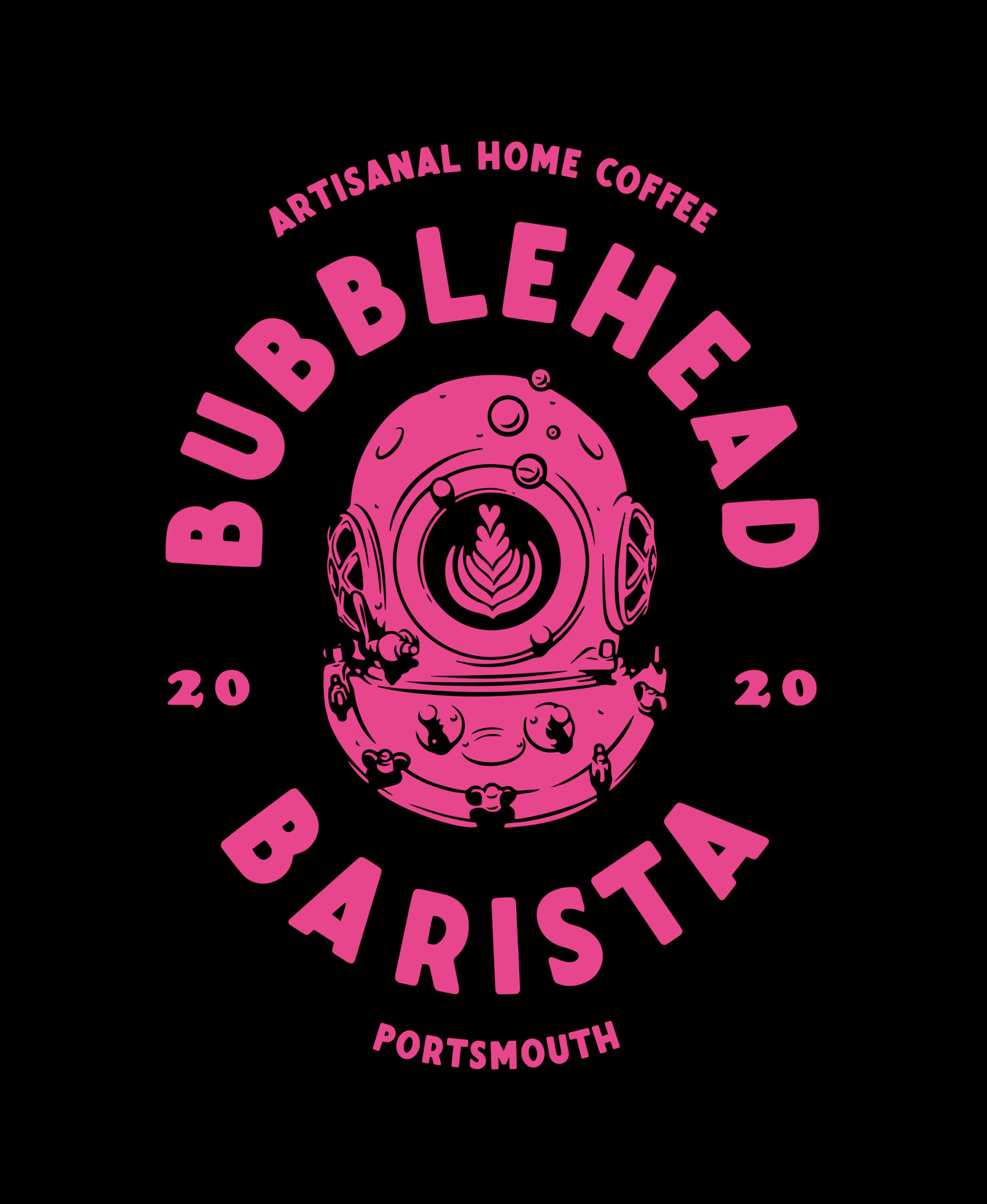 Bubble Head Barista